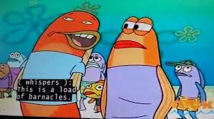 Load of barnacles